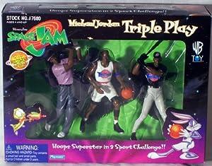 Warner Bros Space Jam Michael Jordan Action Figure Set