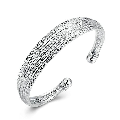 silver-plated-bangle-womens-charm-bangle-openwork-scrub-silver-epinki
