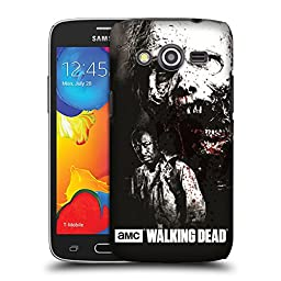 Official AMC The Walking Dead Morgan And Lurker Gore Hard Back Case for Samsung Galaxy Avant