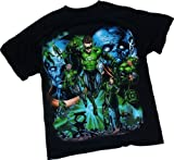 Comic Montage -- Green Lantern Movie Adult T-Shirt