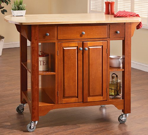 Cheap Walnut – finished Kitchen Cart (B001LQQYVG)