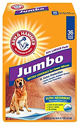 Arm & Hammer Floor Protection Extra large Pads, 36-Count