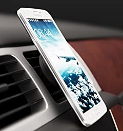 Infernal Innovations Magnetic Car Air Vent for Mobile Devices with Metal Plate