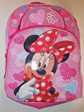 Disney Minnie Mouse Deluxe Kids Backpack with Laptop Sleeve by Fast Foward