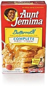 Aunt Jemima Pancake & Waffle Mix, Buttermilk Complete, 5 Pounds