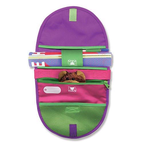 Melissa Doug Trunki Saddle Bag Pink And Purple