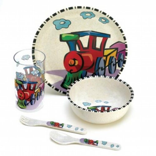 KIDS STEVIE STEAMER DINNERWARE SET
