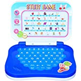 Kids Bazaar Angry Bird Study Game Mini Laptop (Blue)