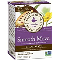 Organic Chocolate Smooth Move tea - Traditional Medicinals, 16 teabags