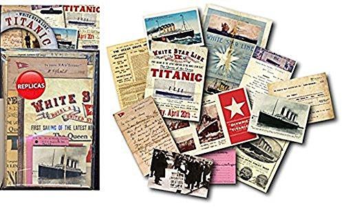 Titanic - Memorabilia Pack (Titanic Memorabilia Pack compare prices)