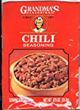 Grandmas Chili Seasoning-12 Packets, .875oz