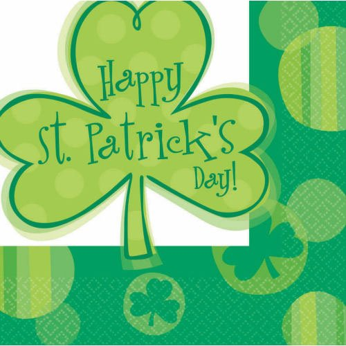Happy Shamrocks Luncheon Napkins (16ct)
