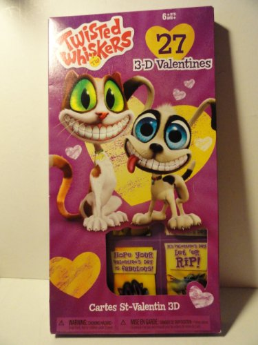 Twisted Whiskers Valentines