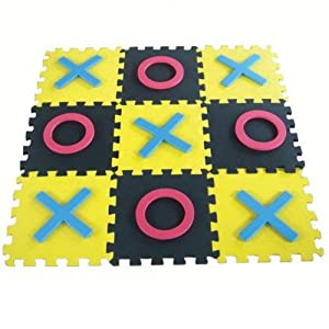Jumbo Tic-Tac-Toe by S&S Jumbo Games