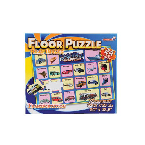 Cheap Constructive Playthings Real Image Transportation Floor Puzzle (B003Y7936S)
