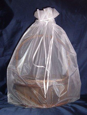 Organza Sheer Basket Bag Gift Pouch-22