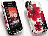 EMARTBUY SAMSUNG S5230 TOCCO LITE LCD SCREEN PROTECTOR AND SILICON CASE/COVER/SKIN ORIENTAL FLOWERS