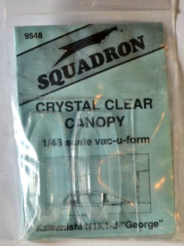 Squadron Products N1K1 George Vacuform Canopy