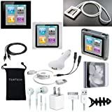 DigitalsOnDemand \xae 14-Item Accessory Bundle for Apple iPod Nano 6th Gen Generation 8GB 16GB (Not Compatible with New iPod Nano 7th Gen)