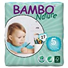 Abena Bambo Nature Premium Baby Diapers, Junior, Size 5, 27 Count