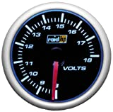 Raid HP Night Flight 660186 Volt Meter Dashboard Instrument Blue