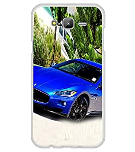 Luxury Blue Car 2D Hard Polycarbonate Designer Back Case Cover for Samsung Galaxy J5 (2015 Old Model) :: Samsung Galaxy J5 Duos :: Samsung Galaxy J5 J500F :: Samsung Galaxy J5 J500FN J500G J500Y J500M