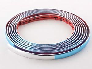 FK Automotive FKEXT01007 Baguette de décoration autocollante (Chromé)