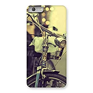 Vintage Bycycle Back Case Cover for Micromax Canvas Knight 2