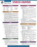 Spanish Grammar - REA's Quick Access Reference Chart (Quick Access Reference Charts) (0738607495) by Editors of REA
