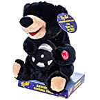 Animated Driving Black Bear