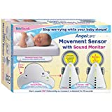 BébéSounds Angelcare Movement Sensor w. Sound Monitor w. Two Parents Units