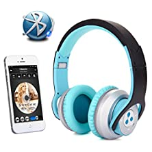 buy New Syllable G800 Foldable Hifi Stereo Wireless Bluetooth 4.0 Nfc Double Moulds Noise Cancellation Headphone Earphone Headset With Microphone For Ipod, Iphone, Ipad, Samsung Galaxy'S, Htc Or Any Other Device With Bluetooth Capability/ Nfc Capability/3.5 M