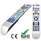 Replacement Remote Control For PHILIPS DVP620VR With 2 X AAA Free Batteries and Free Postage Within UK