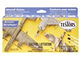 Testors Acrylic Aircraft Finishing Paint Set