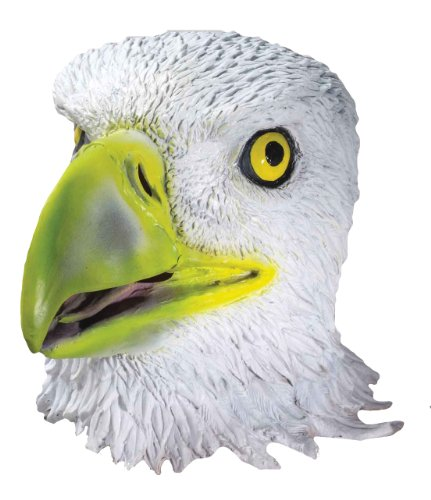 Forum Novelties Men's Deluxe Adult Latex Eagle Mask