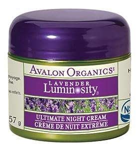 阿瓦隆Avalon Organics Ultimate Night有机薰衣草极致修复晚霜2瓶SS后$19.45