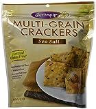 Crunchmaster Multi-Grain Crackers, Sea Salt, 4.5 Ounce (Pack of 6)