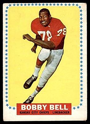 1964 Topps # 90 Bobby Bell Kansas City Chiefs (Football Card) Dean's Cards 2 - GOOD