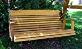 4 Cedar Porch Swing, Amish Crafted - Includes Chain & Springs