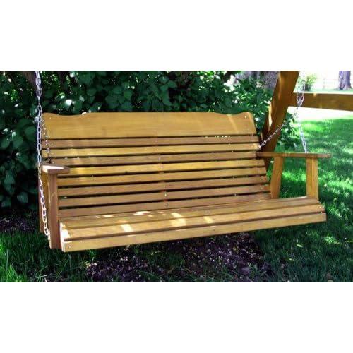 4 39 Cedar Porch Swing Amish Crafted