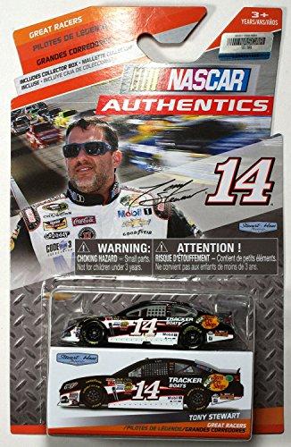 NASCAR Authentics Great Racers 2014 Tony Stewart #14 Tracker Boats Chevrolet Impala SS