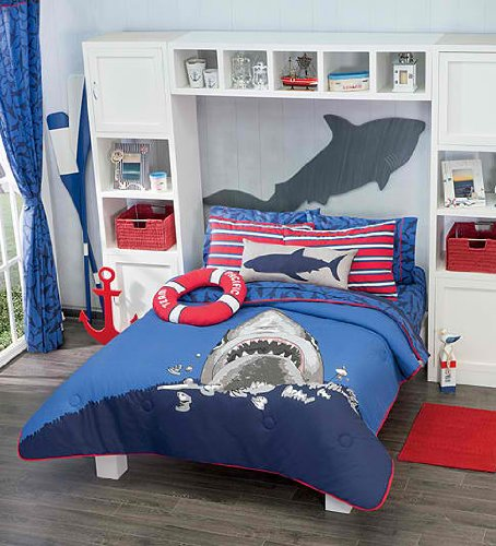 Http Www Xpressionportal Com Shark Bedding And Bedroom Decor