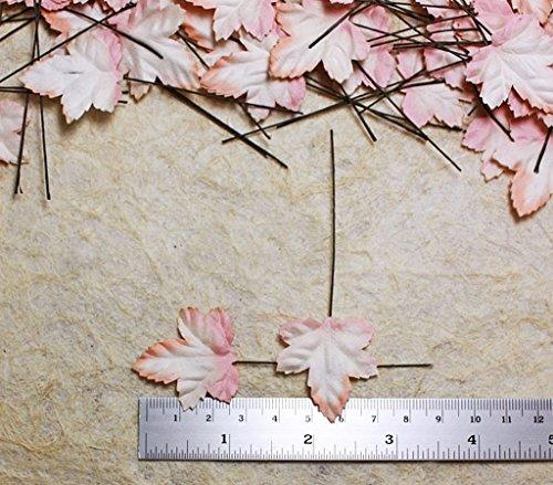50stk verl?sst Grape Leaf Scrapbooking Craft DIY Mulberry Paper Ahorn Hochzeit Karte