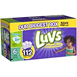 Luvs With Ultra Leakguards Diapers, Size 6, 112 Count