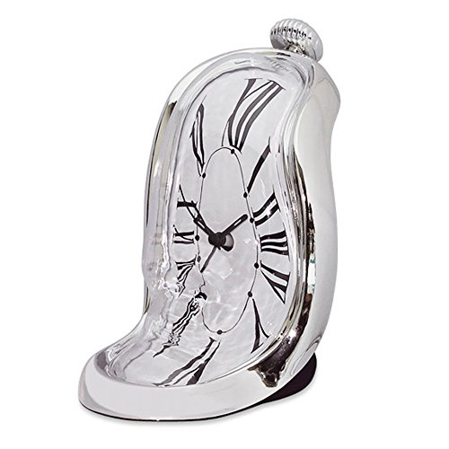 Can You Imagine Melting Clock Bedside Alarm