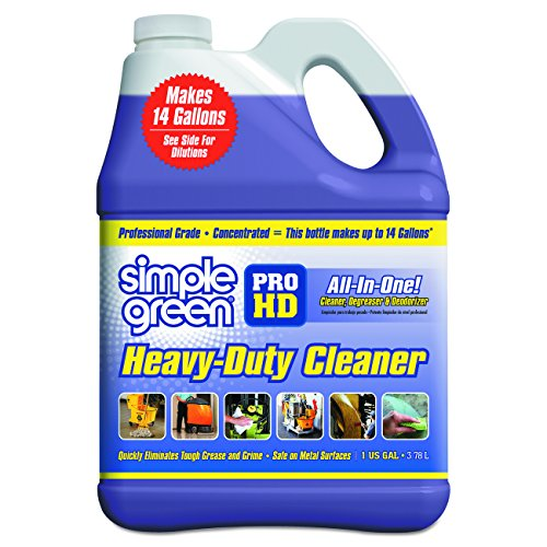 Simple Green SMP13421CT Pro HD Heavy Duty Cleaner, 1 gal Bottle, SMP13421 (Pack of 4) (Heavy Duty Green Cleaner compare prices)