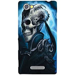 Sony Xperia M Back Cover - Heaven Designer Cases