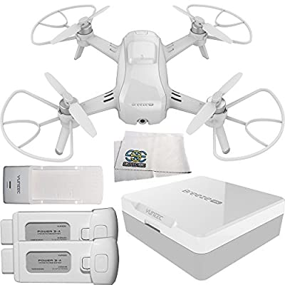 Yuneec Breeze Compact 4K UHD Quadcopter Drone Starters Bundle by SSE