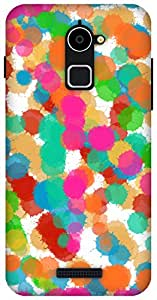 The Racoon Lean Abstract Colors hard plastic printed back case / cover for Coolpad Note 3 Lite