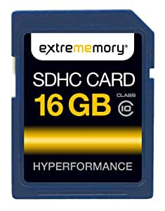 ExtreMemory EXMESDHC16GC10 HyPerformance Carte mémoire SDHC 16 Go